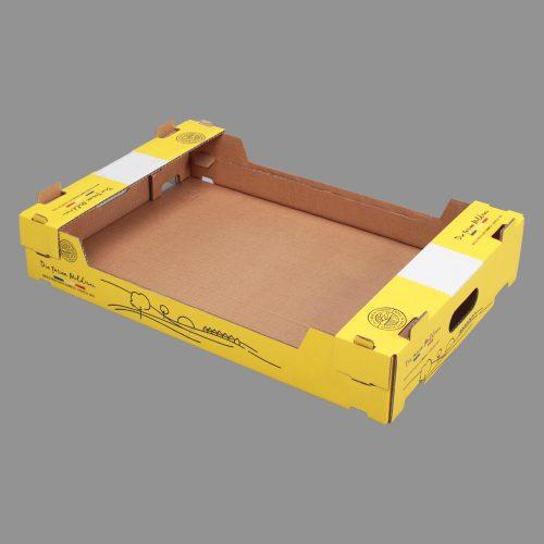 cutii cu autoinchidere din carton ondulat
