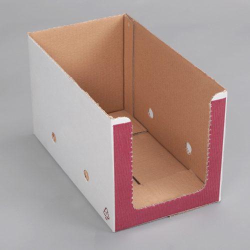 cutii clasice decupate din carton